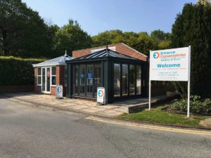 Enhance Conservatories Gosforth Showroom