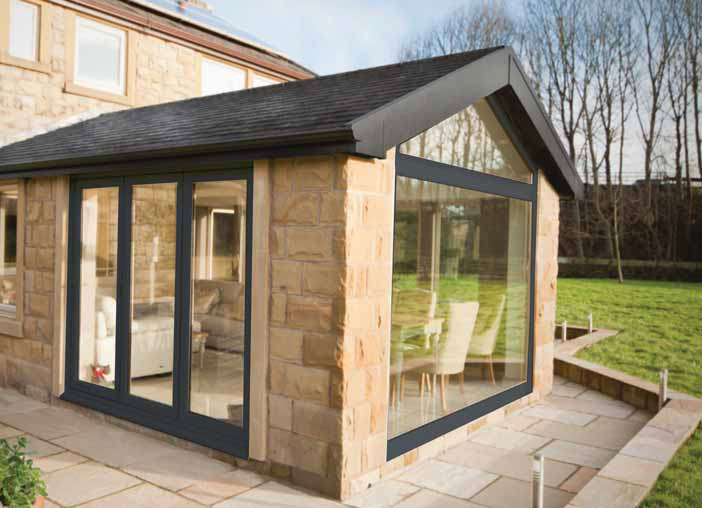 Modern Gable Conservatory Style North East