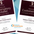 Enhance Conservatories Awards