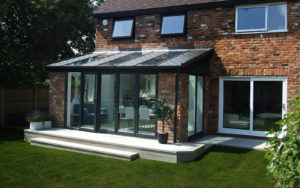 tiled roof house extensions North East
