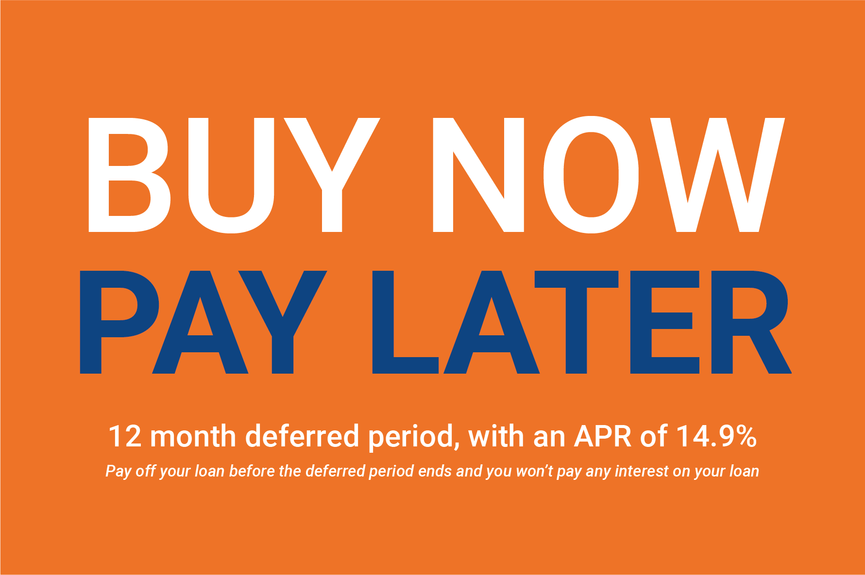 Buy Now Pay Later Double Glazing
